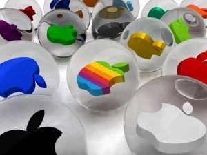 Apple into spheres