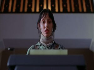 "Wendy Torrance (Shelley Duvall) in ""The Shining"""