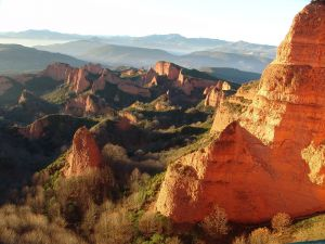 Las Médulas, province of León (Spain)