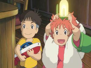 Sousuke and Ponyo