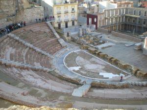 Roman Theatre in Cartagena (Spain)