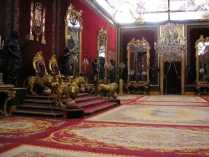 Throne Room of the Royal Palace of Madrid