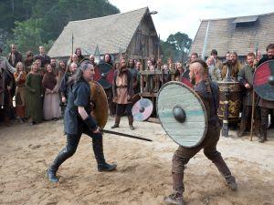 Combat between Ragnar Lodbrok and Earl Haraldson
