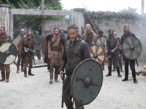 Ragnar with his battle fellows