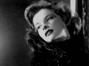 The beautiful actress Katharine Hepburn