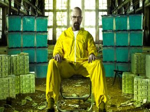 "Walter White in ""Breaking Bad"""