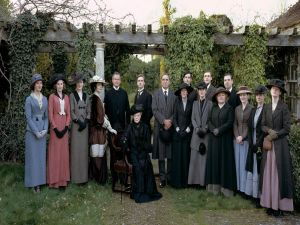 "Characters from the series ""Downton Abbey"""