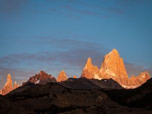 Sunrise in El Chalten (Patagonia, Argentina)