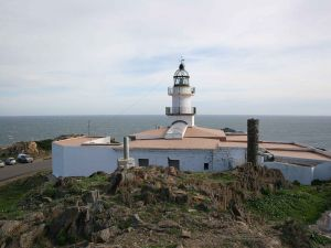 Creus cape lighthouse in the province of Girona (Spain)
