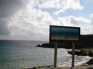 Mediterranean Sea from the Punta de Tarifa