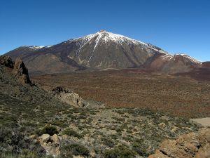 """Teide from """"altos de Guajara"""""""