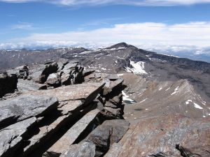 Pico Veleta from the summit of Mulhacen