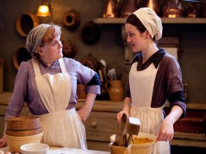 The cooks of Downton Abbey