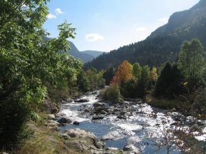 A creek in the Posets-Maladeta park, near Benasque (Spain)