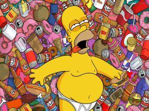 Homer surfeited