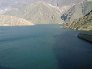Reservoir Los Caracoles, San Juan, Argentina