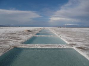 Salinas Grandes, interprovincial boundary of Salta and Jujuy, Argentina