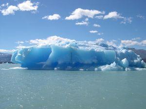 Iceberg in Argentino Lake (Argentina)