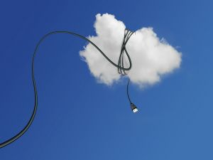Cable wrapping a cloud