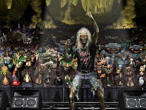 Iron Maiden, Eddie in concert