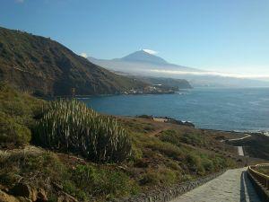 The Teide from Rojas, El Sauzal