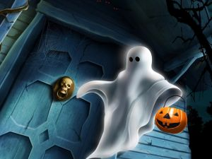 Ghost in Halloween