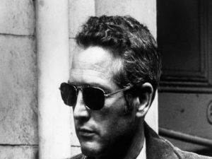 Paul Newman with sunglasses