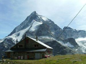 Schönbiel Hut (Swiss Alps)