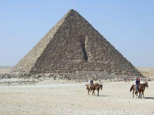 Pyramid of Menkaure, Giza, Egypt