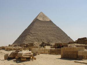 Khafre's Pyramid in Giza, Egypt
