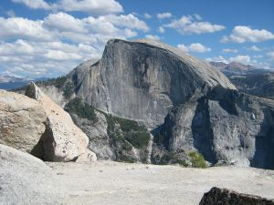 Rock formation in Yosemite National Park