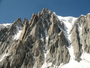 "The ""Needles of the Devil"" view from Glacier of the Giant"