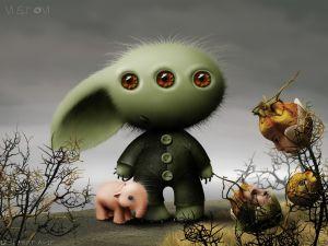 Rabbit extraterrestrial