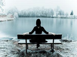 Calm winter landscape