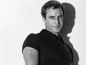 A young Marlon Brando
