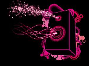 Pink speaker