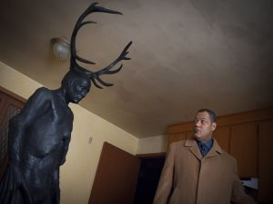 "Jack Crawford (Laurence Fishburne) in ""Hannibal"""