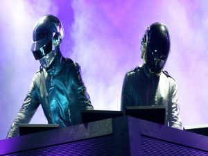 "The electronic music duo ""Daft Punk"""