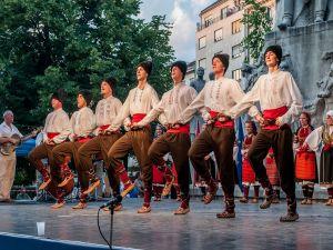 Folk Dancing of Budapest
