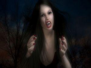 3D vampiress