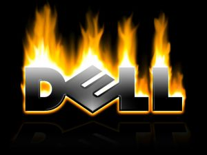Dell on fire