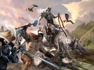 The battle of Odin