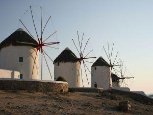 Windmills in Greece