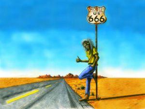 Eddie on Route 666