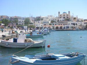 Lipsi Island Harbor (Greece)