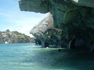 Marble Cave, on Lake General Carrera, Chile