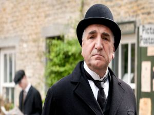 Charles Carson, chief butler in Downton Abbey