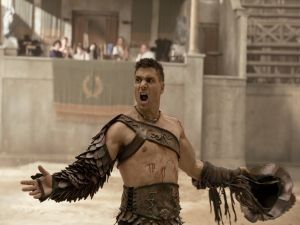 Crixus, French gladiator and champion of Capua