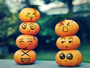 Tangerines emoticon