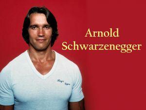A young Arnold Schwarzenegger